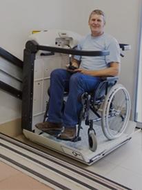 disabled stair lift platform lift image